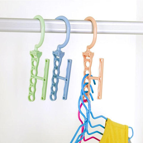 Multi-functional Space-saving 5-Hole Hanger