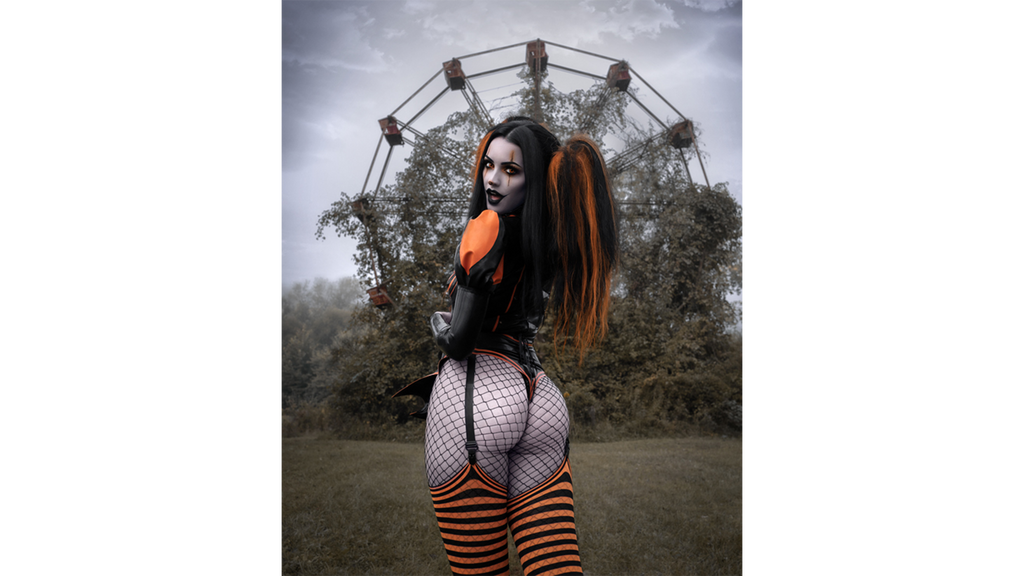 """Dark Carnival"" - Trixy Treats 8x10 Signed Print"