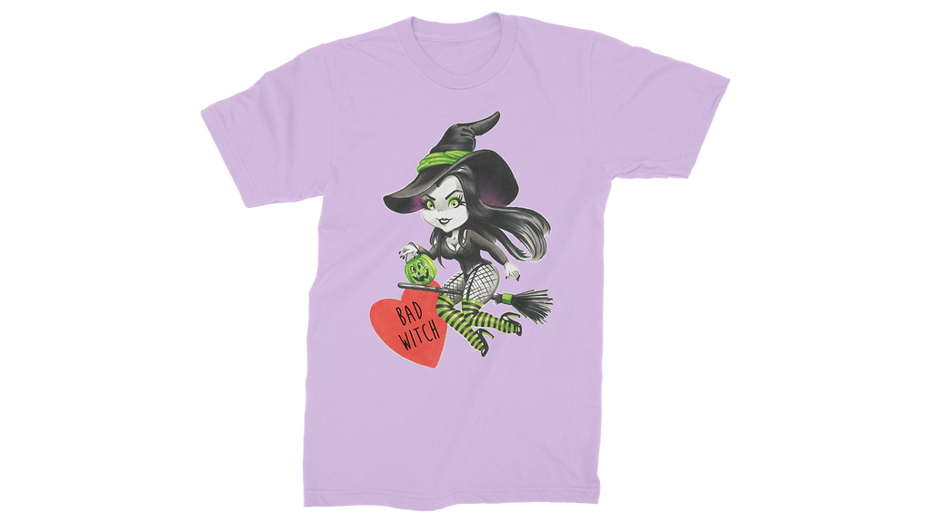 Bad Witch Valentine T-Shirt