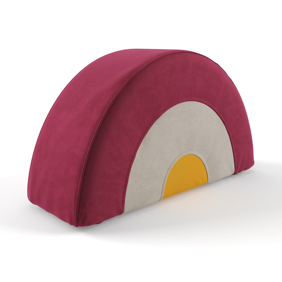 Rainbow Footstool - Small