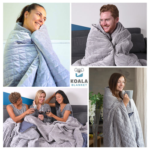 Koala™ Therapeutic Weighted Blanket Set