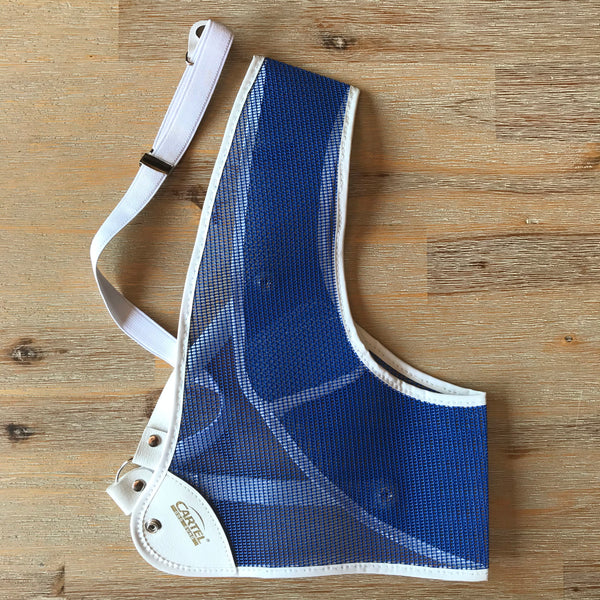 (USED) Chest Guard - RH Blue - Large