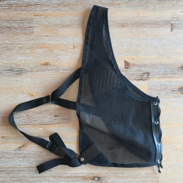 (USED) Chest Guard - RH - Large (Black)