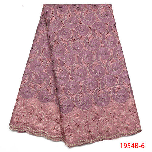 100% Soft Cotton Voile Lace Swiss Lace Latest High Quality Swiss Voile Laces in Switzerland For Wedding Dress NA1954B-1