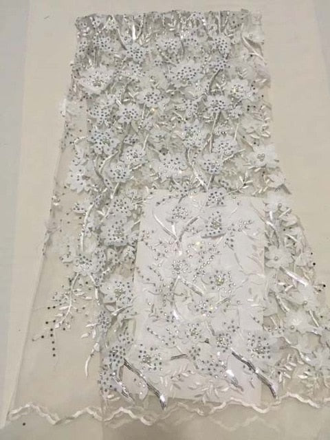 2018 3D Selling High Quality French African lace Fabric with Stones Embroidery peach swiss lace fabric for nigerian lace wedding