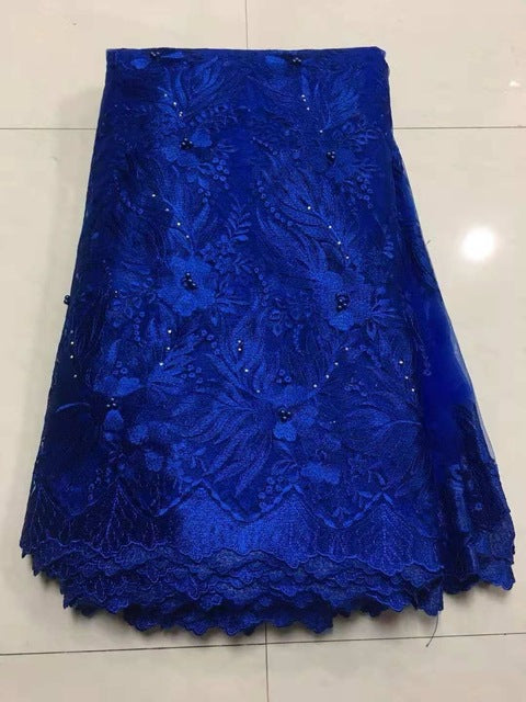 2018 New Design Swiss Voile Lace African Guipure French Lace Fabric with Stones African Lace Fabric High Quality for Wedding