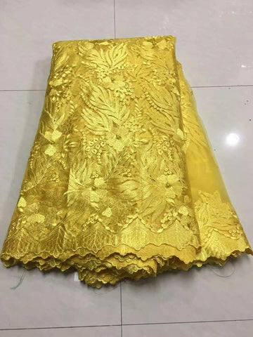Image of 2018 New Design Swiss Voile Lace African Guipure French Lace Fabric with Stones African Lace Fabric High Quality for Wedding
