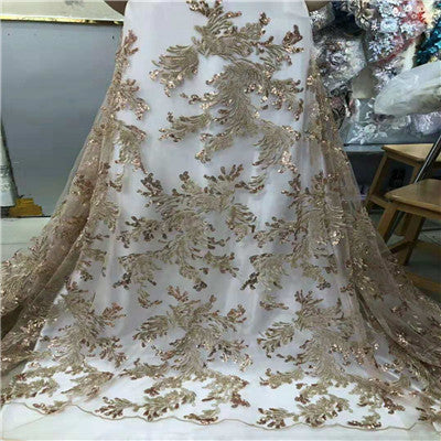 2018 New Design White 3D African lace fabric High Quality french  lace fabric Cord lace Nigerian lace for Wedding dressHX1312-1
