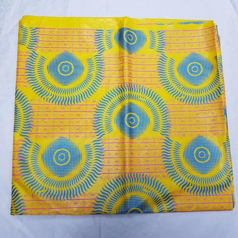 Image of 2018 hot jacquard brocade fabric Tie dyeing bazin riche getzner  nouveaute African print fabric high quality 5 yards per lot