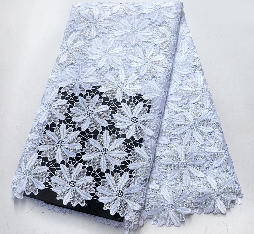 Buy Cheap Latest Style 2018 Gold African Lace Fabric For Wedding Dress French Lace Fabric With Stones Latest Nigeria Tulle Lace Fabric Reputation First Arts,crafts & Sewing