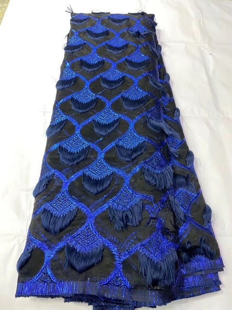 2020 Latest 3D lace fabric african lace fabric high quality French Tulle Lace Fabric Net Nigerian lace fabric 3D Lace  KYY20112A