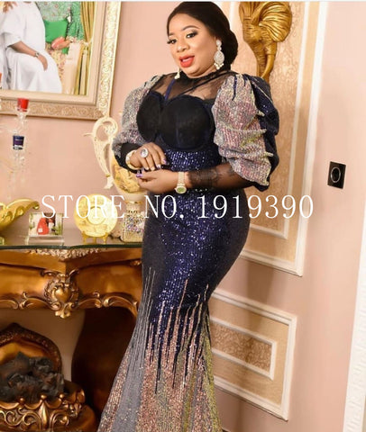 Image of 2020 Latest French Nigerian Laces Fabrics High Quality Sequins African Laces Fabric Wedding French Net Lace XX33371