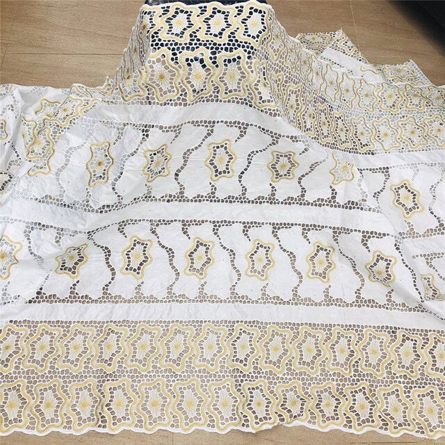 2020 New arrival  african Bazin riche fabric with beads embroidery lace / bazin riche dress material Nigerian HL061701