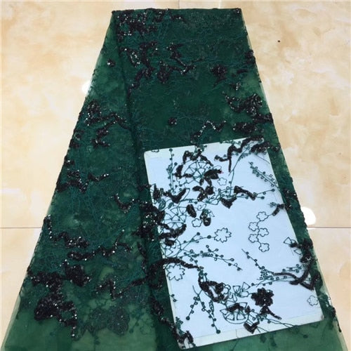 3d lace flowers latest nigerian lace styles french party lace fabrics 5 yards 2019 net tulle fabric    XZXJUL223