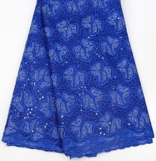 5yards french lace embroidered tulle lace material.latest nigerian african lace fabric for party dress