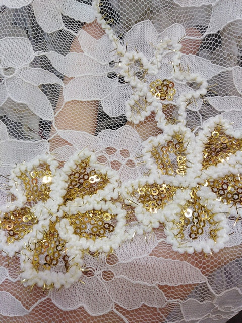 5yards  special design good quality mesh tulle lace fabric for  Bridal High Quality French Tulle Lace Fabric    zd01