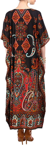 Image of Miss Lavish London Ladies Kaftans Kimono Maxi Style Dresses Suiting Teens to Adult Women in Regular to Plus Size