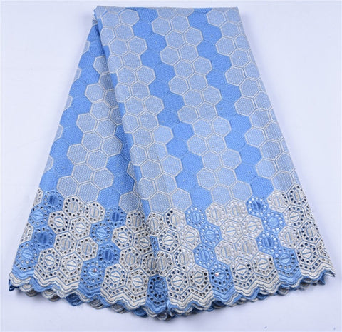 Image of African Dry Lace Fabric Swiss Voile With Stones Swiss Cotton Lace High Quality 2019 Men Lace Fabrics For Wedding A1646