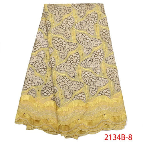African Lace Fabric 2018 High Quality Lace Swiss Voile Lace Fabric Cheaper Dry Cotton Lace Fabric For Party Dresses NA2134B-2