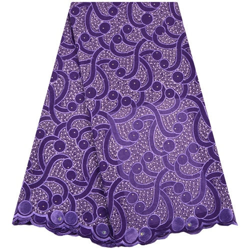 African Lace Fabric 2018 High Quality Lace Swiss Voile Lace In Switzerland Cotton Swiss Dry Lace Fabric Nigeria Wedding A1290