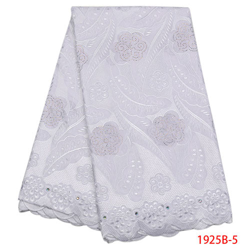 African Lace Fabric 2018 High quality Dry lace Fabrics High Quality Cotton Lace Nigerian Lace Fabrics For Wedding 2018 NA1925B-2