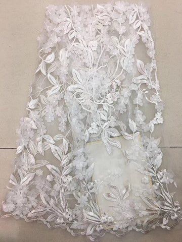 Image of African Lace Fabric 2019 High Quality with Diamonds African Fabric Cotton Swiss voile lace in switzerland For Wedding