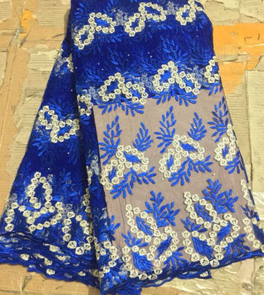 African Tulle Lace Fabric 2018 African French Lace Fabric FLM031 High Quality With Stones Nigerian Embroidery Tulle French Lace