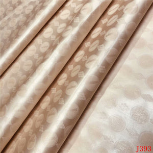 Bazin Riche Getzner Gold 2019 Noumea Jacquard Fabric Glitter Atiku Fabric 5 Yards French Cotton Lace Fabric for Man HA393