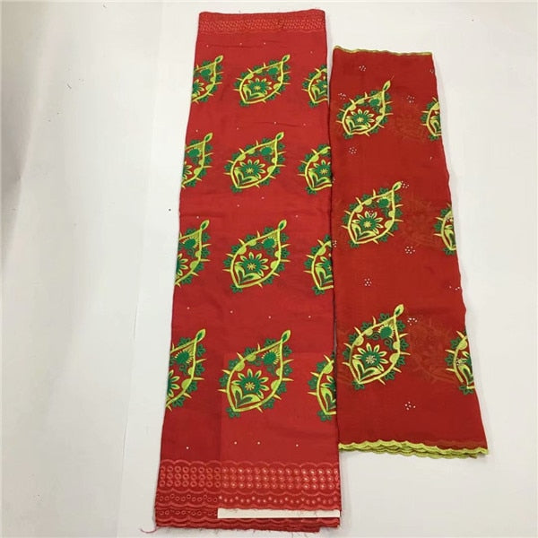 Fashion embroidery African cotton lace fabric fashion Swiss voile lace cloth for sewing CCV5(5+2y) many color