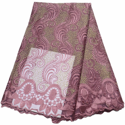 wholesale latest african lace fabric 2020 high quality lace fabric african fabric nigerian french lace fabric with stones