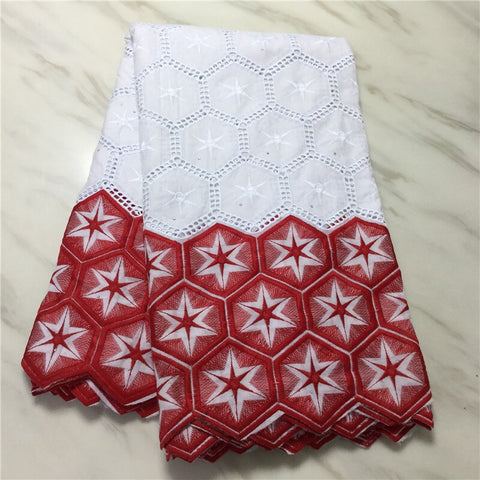 Image of CS swiss voile lace in switzerland latest african lace fabric high quality swiss lace fabric 5 yards cotton fabric for Diy dress