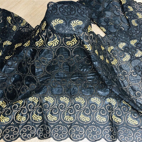 2.5 Yards New Arrival  African Bazin Riche Fabric With Beads Embroidery Lace / Basin riche dress material Nigerian For wedding