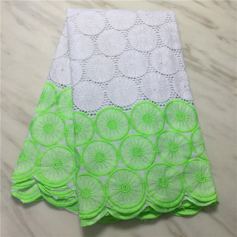 CS swiss voile lace in switzerland latest african lace fabric high quality swiss lace fabric 5 yards cotton fabric for Diy dress