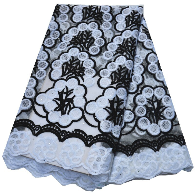 latest lace fabric 2020 african lace fabric with stones 5yards african fabric african lace fabric 2019 high quality lace