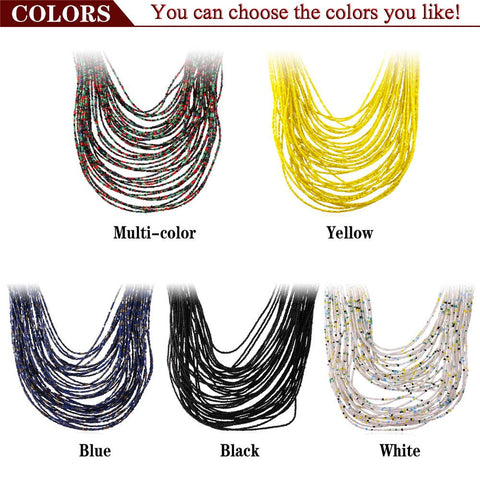Collare Nigeria African Coral Bead Necklace Women Fashion Jewelry Trendy Gold Color Multi Layer Statement Necklaces Women N1731