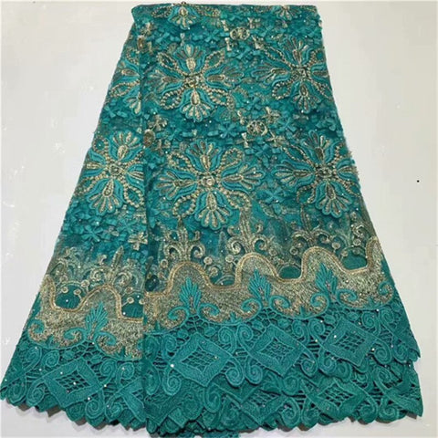 Image of Multicolor Nigerian Mesh Tulle Lace Fabrics with Sequins Embroidery African Lace Fabric Sequins Lace Fabric French Net Lace