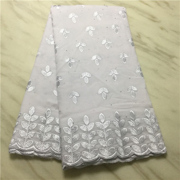 Madison  African Dry Voile Cotton Lace High Quality Lace Nigerian Swiss Voile Lace In Switzerland For Party Dress