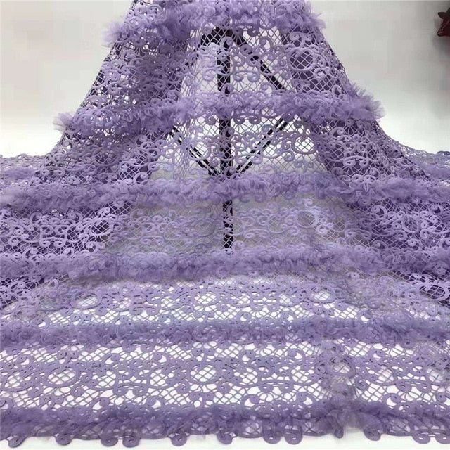 Madison African Lace Fabric 2019 High Quality Guipure Sequins Tulle Nigerian Mesh Lace Fabrics Material For Wedding Dress