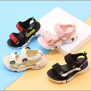 New 2020 Summer Boys Leather Sandals for Baby Flat Children Beach Shoes Kids Sports Soft Non-slip Casual Toddler Sandal