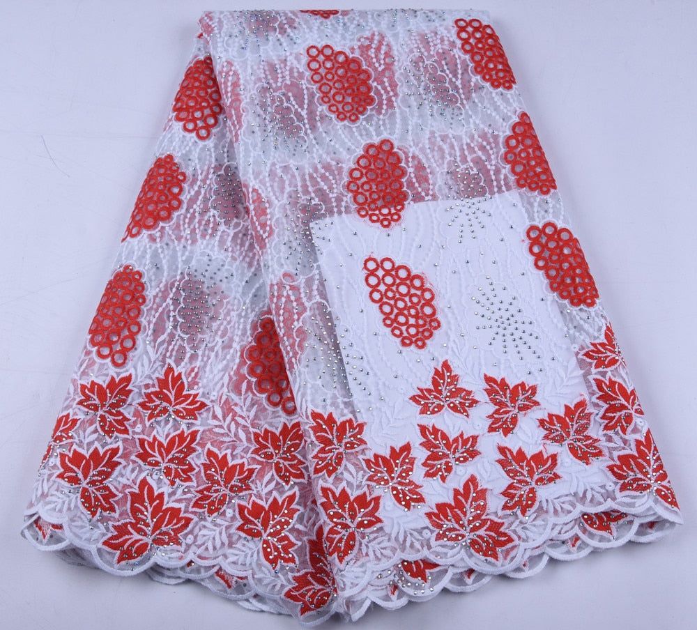 Nigerian Lace Fabric African Lace Fabric 2019 French Lace Fabric For Women Wedding Party Dress A1644