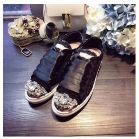 eb87173a62dbf2 Rhinestone Lace New 2018 Spring and summer Designer Wedges White Black  Sneakers Women Shoes Casual Air. Click to expand