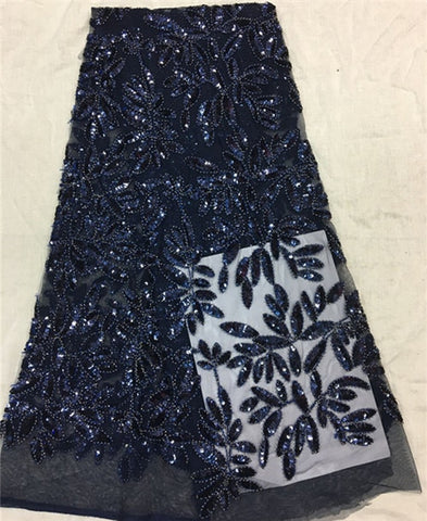 Image of Wholesale new arrival african sequins fabric, high quality sequins fabric sewing nigerian aso ebi
