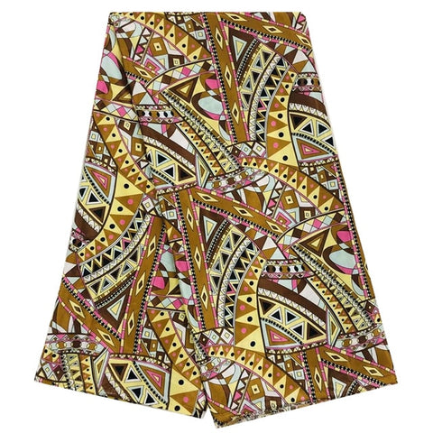Image of african silk satin fabric 2020 latest nigerian silk wax fabric ribbon silk material for women dress 5yards