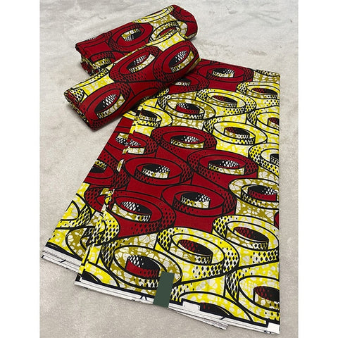 Image of dashiki Wax Prints Fabric ankara african wax print fabric Wax High Quality 6 yards African Fabric for Party Dress