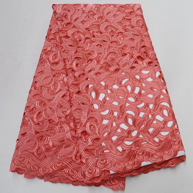 High Quality Swiss Voile Lace 2018 African Lace Fabric African Swiss Cotton Voile Lace Fabric For Wedding or women ST309