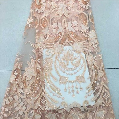 African Lace Fabric 2018 High Quality African Tulle Lace Fabric With Velvet French Net Lace For Women Dress New