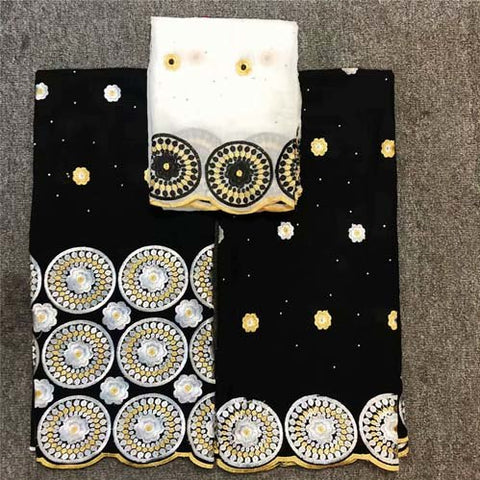 Image of Wholesale High Quality Swiss Voile Lace In Switzerland Pretty100% Cotton Swiss Voile Laces For African Sewing Dress