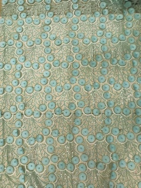Lace Fabric With Beads Sewing Material 5yard African Lace Fabric 2018 High Quality 3d Flower Fabric With Beads