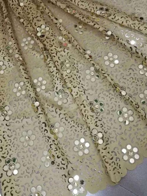 Latest African Lace 2018 Swiss Cotton Dry Lace Fabric High Quality Swiss Lace Material With Stones For Man And Women Dress