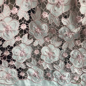new African velvet lace fabric, beautiful 3d flower laser beaded embroidery pattern, designed the Nigerian velvet silk fabric 5Y